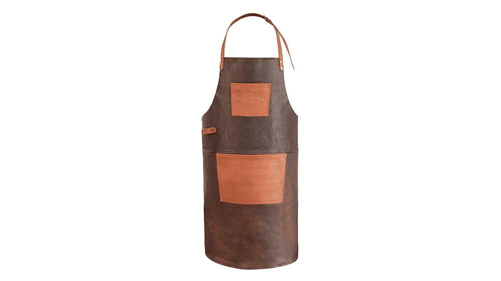 Petromax Büffelleder-Schürze ab-b_buff leather apron with neck strap_tablier en cuir avec sangle de cou