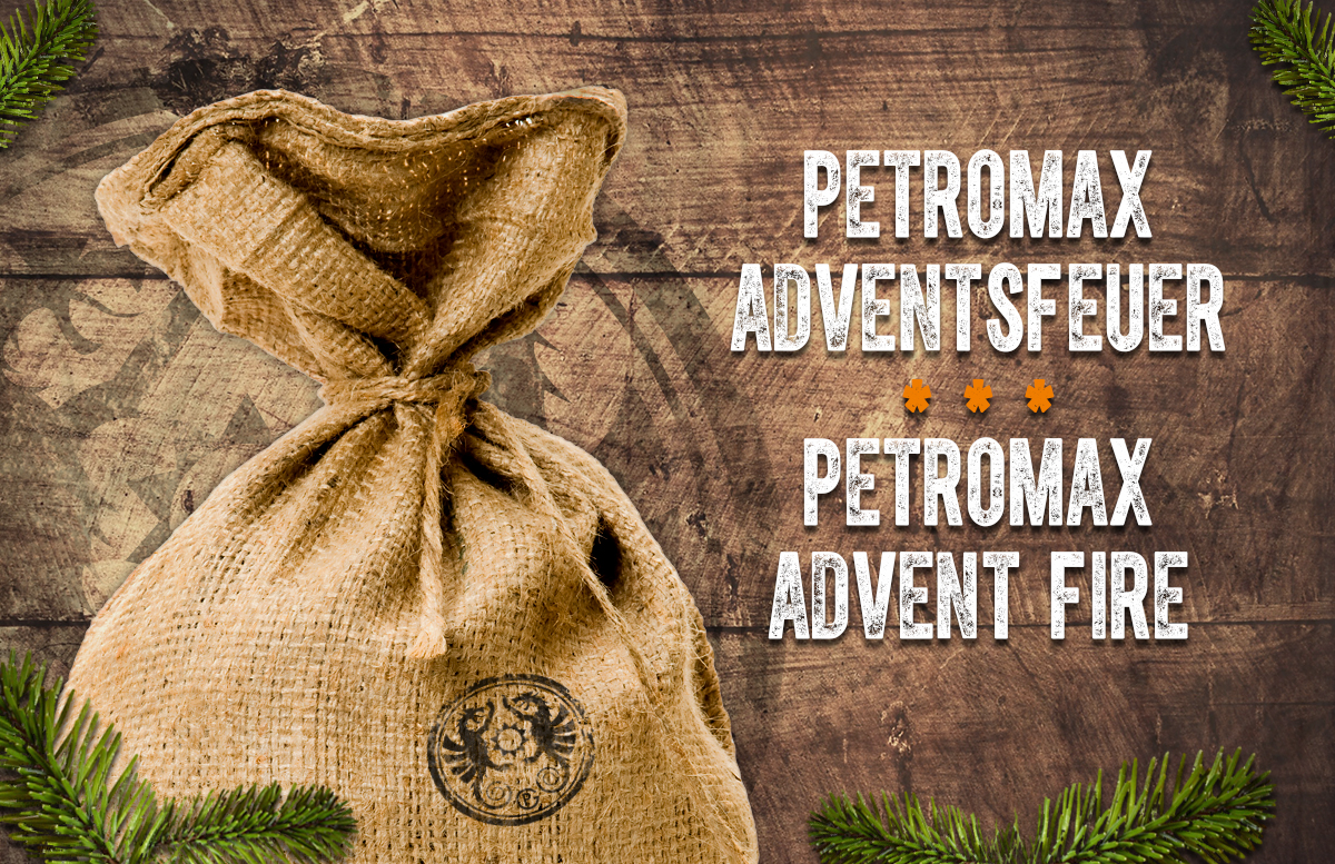 Petromax Adventsfeuer 2019 Teaser_Jutesack_sack with presents