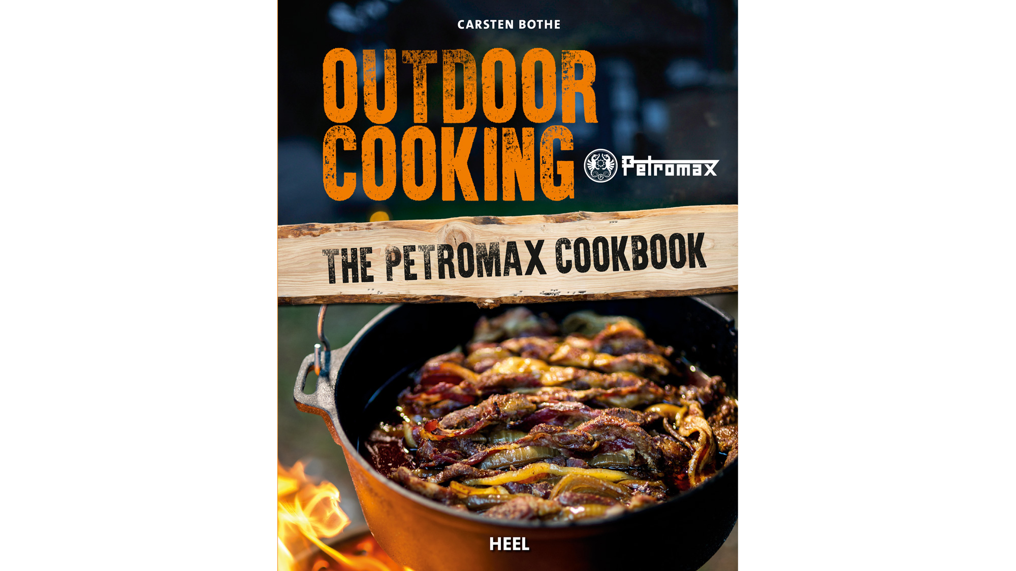 Cover of new Petromax Cookbook Outdoor Cooking